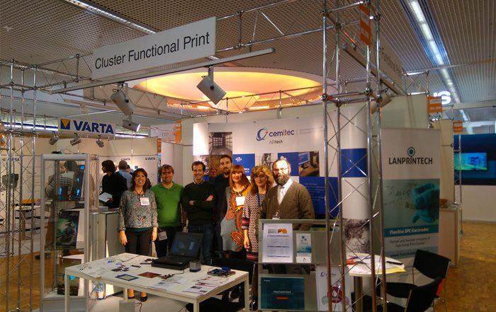 El Cluster Functional Print estará presente en la feria Lopec en Munich