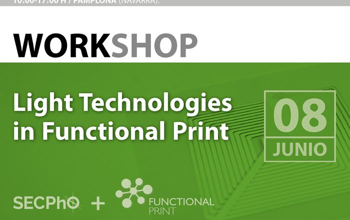 Jornada: Light Technologies in Functional Print