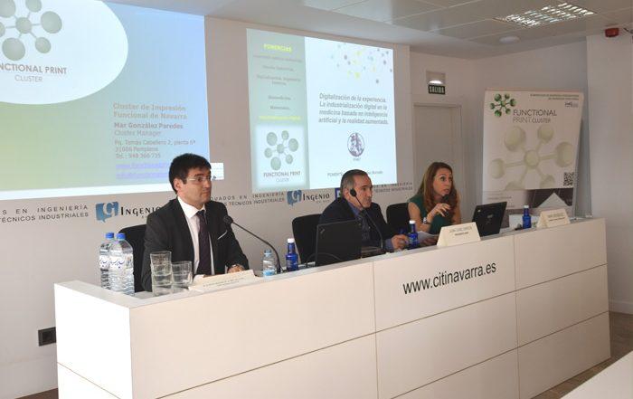 Expertos de la impresión aditiva analizan en Pamplona las oportunidades del sector en el entorno de la Industria 4.0