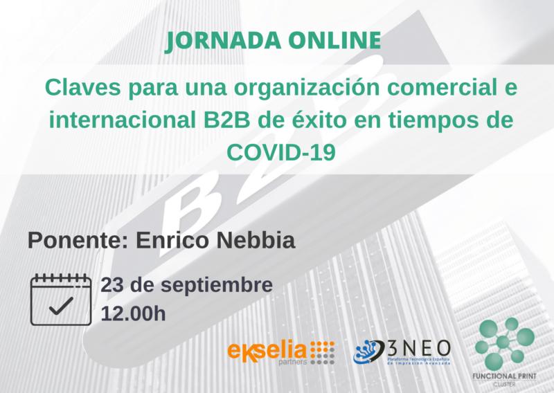 CLAVES PARA UNA ORGANIZACIÓN COMERCIAL e INTERNACIONAL B2B DE ÉXITO EN TIEMPOS DE COVID-19 (2)