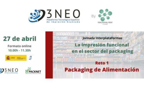 Jornada Interplataformas: Retos Tecnológicos de la Impresión Funcional Aplicada al Packaging Alimentario