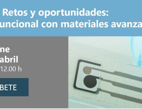 Jornada: Retos y oportunidades de impresión funcional con materiales avanzados