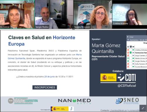 Claves en el mercado de la salud, convocatoria de Horizonte Europa