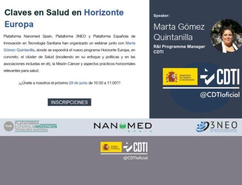 Claves en el mercado de la salud dentro de la convocatoria de Horizonte Europa
