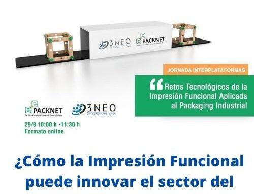 Oportunidades de desarrollo innovador a las empresas del sector del Packaging, mediante la funcionalización de sus envases –  29/09/21